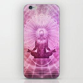 Spiritual Yoga Meditation Zen Colorful iPhone Skin
