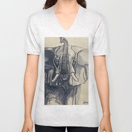 Trunks Up Unisex V-Neck