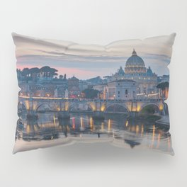Saint Peter's Basilica at Sunset Pillow Sham