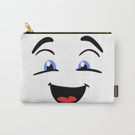 Emoji happy face Carry-All Pouch