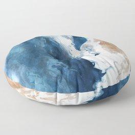 Ocean Unrelenting Floor Pillow