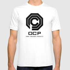 Omni Consumer Products Logo Shirt Mens Fitted Tee White SMALL