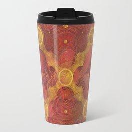 """Rose Gold Mandala Deluxe"" Travel Mug"
