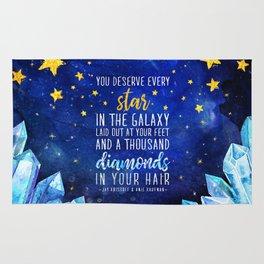 Star and Diamonds Rug