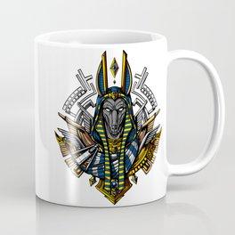 Anubis Egyptian God King Pharaoh Coffee Mug