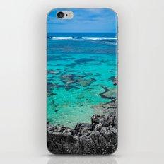 Beach in Turquoise iPhone & iPod Skin