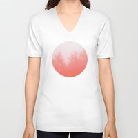 focus V-neck T-shirts featuring Out of Focus by Picomodi