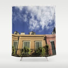 New Orleans French Quarter Sky Shower Curtain