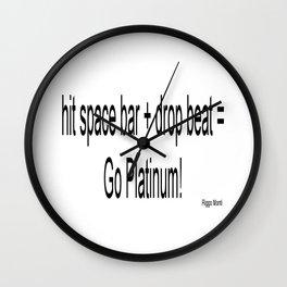 Riggo Monti Design #22 - Hit Space Bar Wall Clock