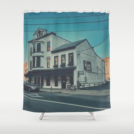 The Village Idiot Shower Curtain