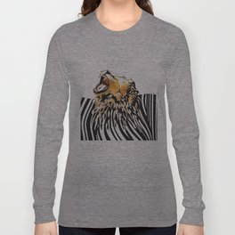 lion barcode Long Sleeve T-shirt