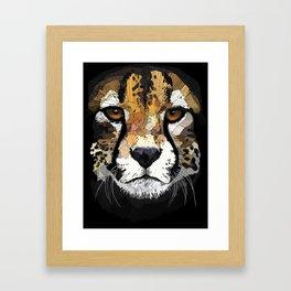 Face de Chita Framed Art Print