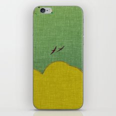 migratory thoughts iPhone Skin