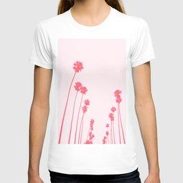 Pink California Palms T-shirt