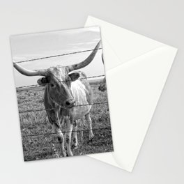 Longhorn Cows Stationery Cards