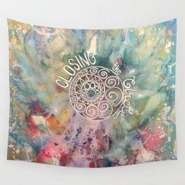 Closing the Circle Wall Tapestry