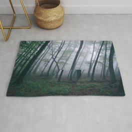Lacanian Forest Rug