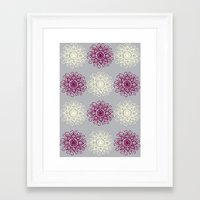 wallpaper Framed Art Prints featuring wallpaper by Art Stuff