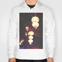 lanterns Hoodies featuring Lanterns by Kaartik Gupta
