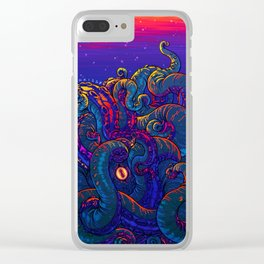 KRAKEN Clear iPhone Case
