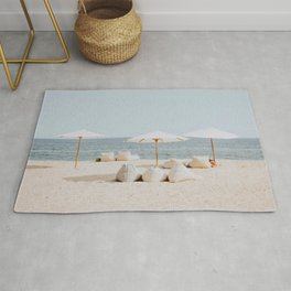 summer beach ii Rug
