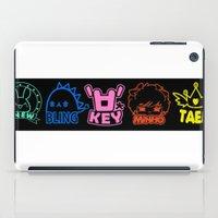 shinee iPad Cases featuring SHINee World III Characters by Korea&Japan