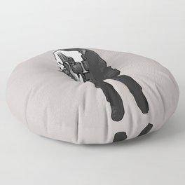 Red head Floor Pillow
