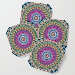 Iris Mandala Coaster