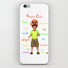Angryocto - Tony's IceCream iPhone & iPod Skin