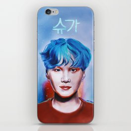 i_live_for_his_hair_color.jpg iPhone Skin