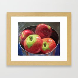 Cortland Apples Framed Art Print