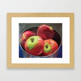 Cortland Apples Framed Art Print