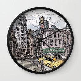 New York City FLASH Wall Clock