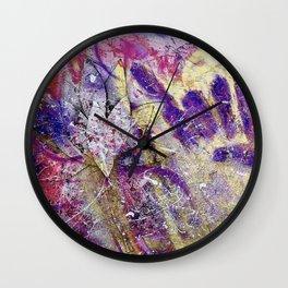 Rock Your Lotus Wall Clock