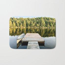 Dock on the Lake Bath Mat