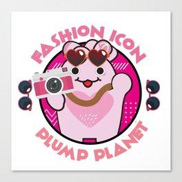 Fashion Icon Canvas Print