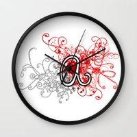 alabama Wall Clocks featuring Alabama by Tanie