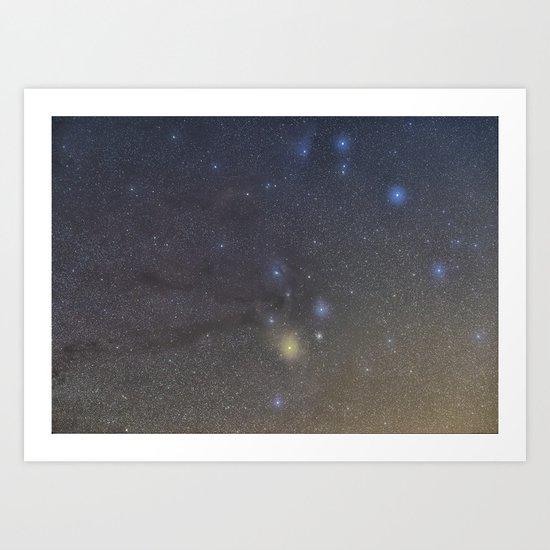 Antares region Art Print
