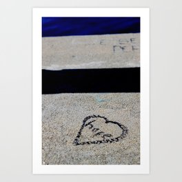 Rock The Hope Art Print