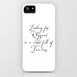 Looking for Rhysand iPhone Case