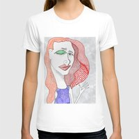 polka dot T-shirts featuring POLKA DOT by The Bravo Sisters Art