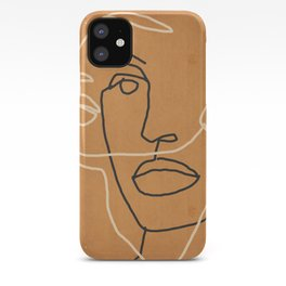 Abstract Face 6 iPhone Case
