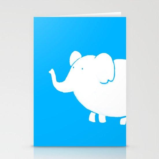 White Elephant  Stationery Cards