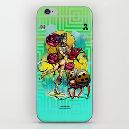 Madame Ladybotté Butterfly of Lovers' Vale iPhone Skin