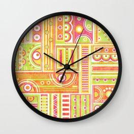 Instrumental Wall Clock
