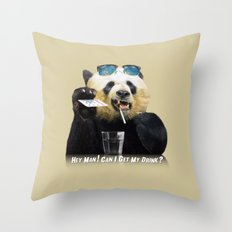hey man ! Throw Pillow