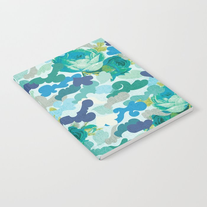 Camoflauge Roses Notebook