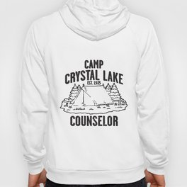 Camp Crystal Lake Counselor Friday The 13Th Retro Tee Camp T-Shirts Hoody