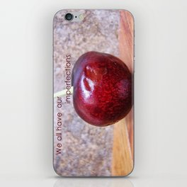 Imperfections iPhone Skin