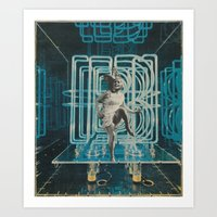 neon Art Prints featuring Neon by Imogen Art
